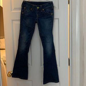 True Religion bell bottom jeans